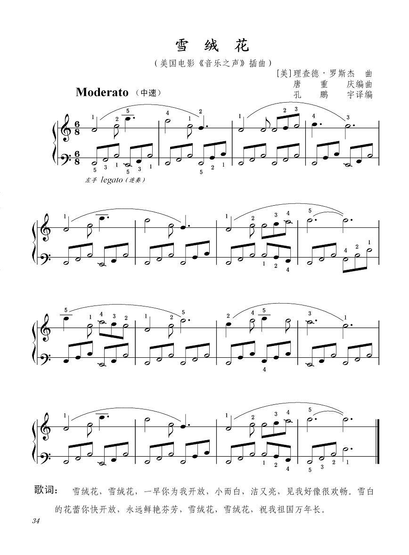 简单的谱子竖笛